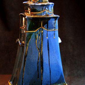 vase à cols variables grès émaillé 50cm env. 525€